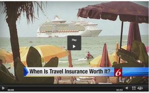 CBS Travel Insurance Video Screengrab